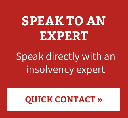 Speak to an Insolvency Practitioner